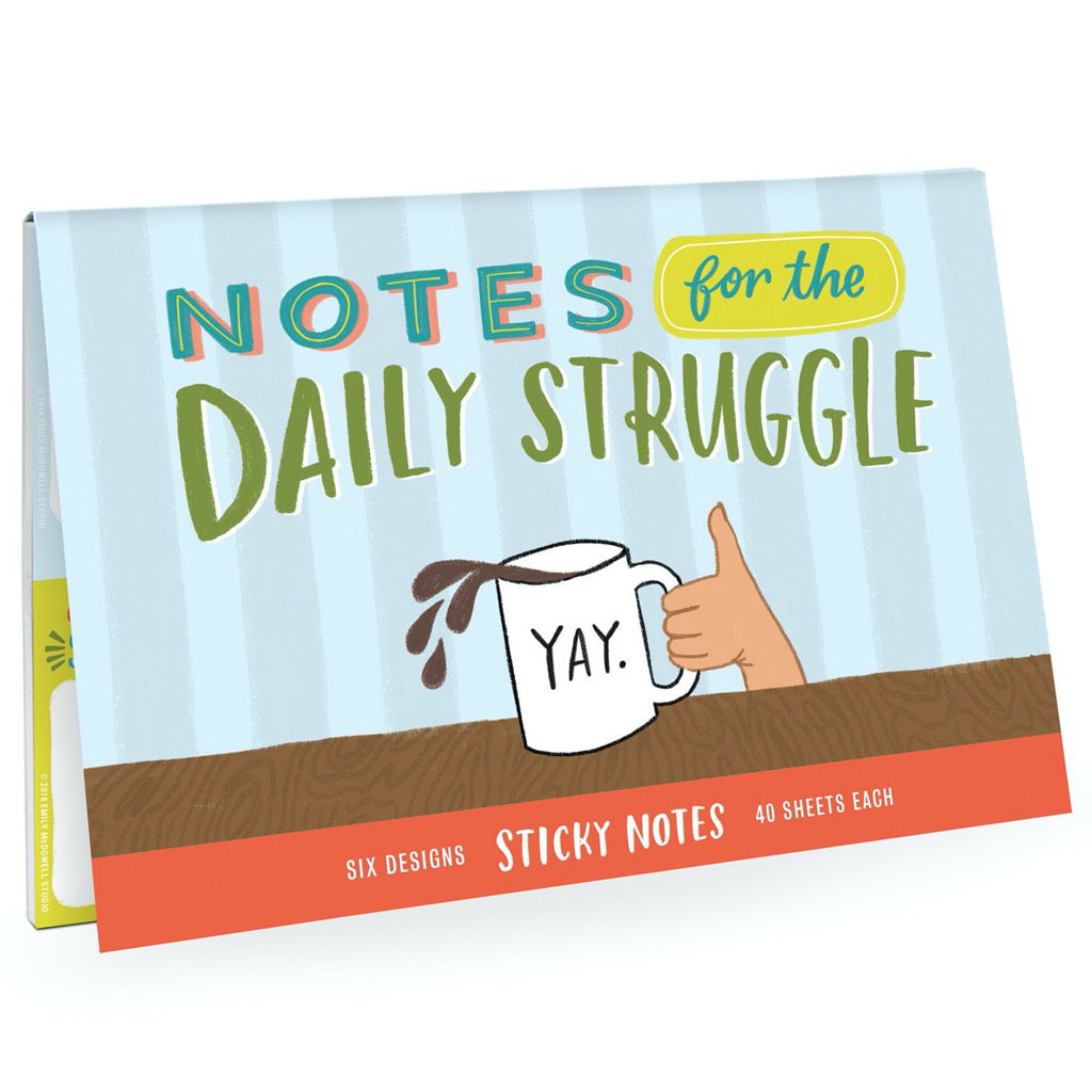 Daily Struggle Sticky Notes Pack