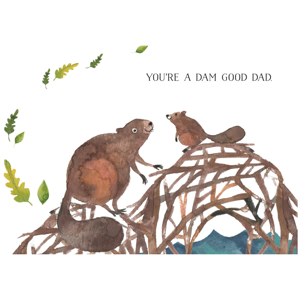 Dam Good Dad Card
