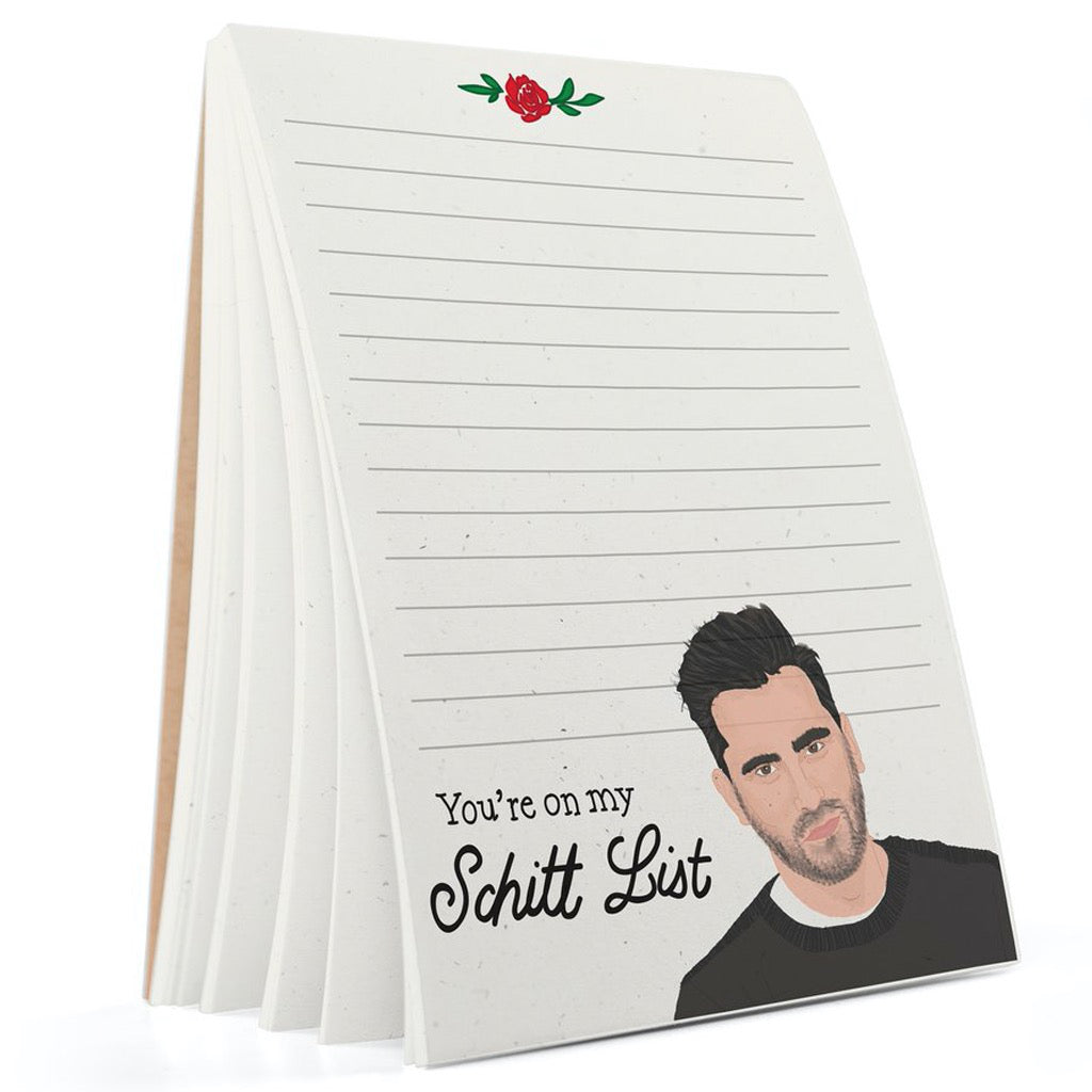 Dan Levy Schitt's Creek Notepad