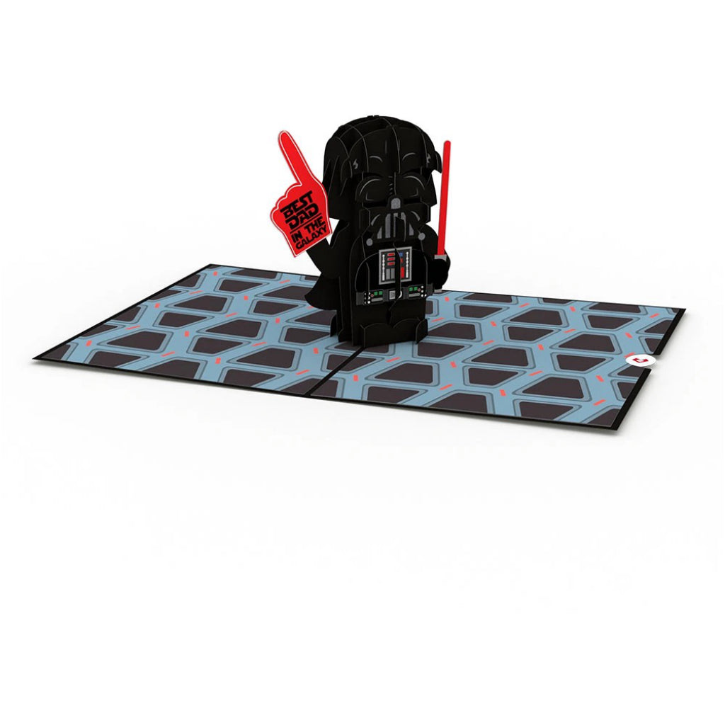Darth Vader: Best Dad in the Galaxy 3D Pop Up Card Interior