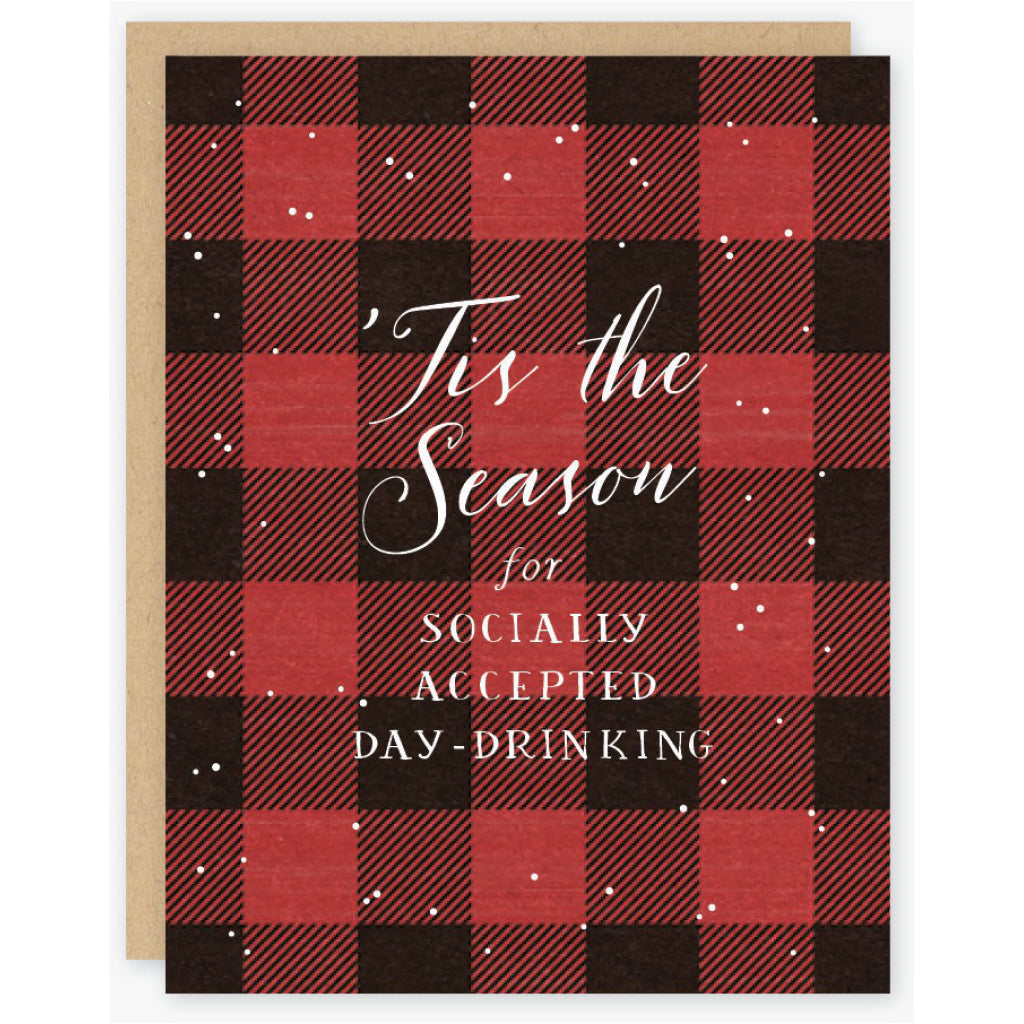 Day Drinking Holiday Card