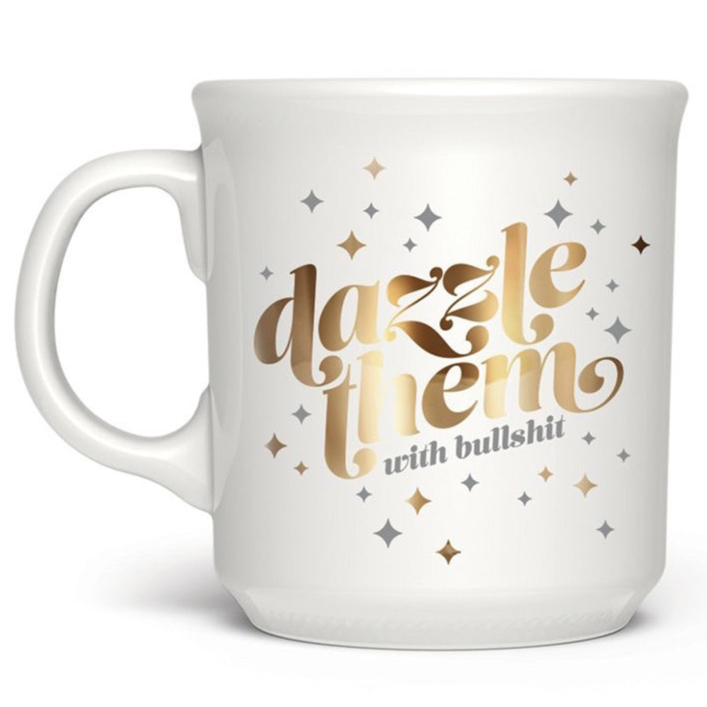 Dazzle Them With Bullshit Mug
