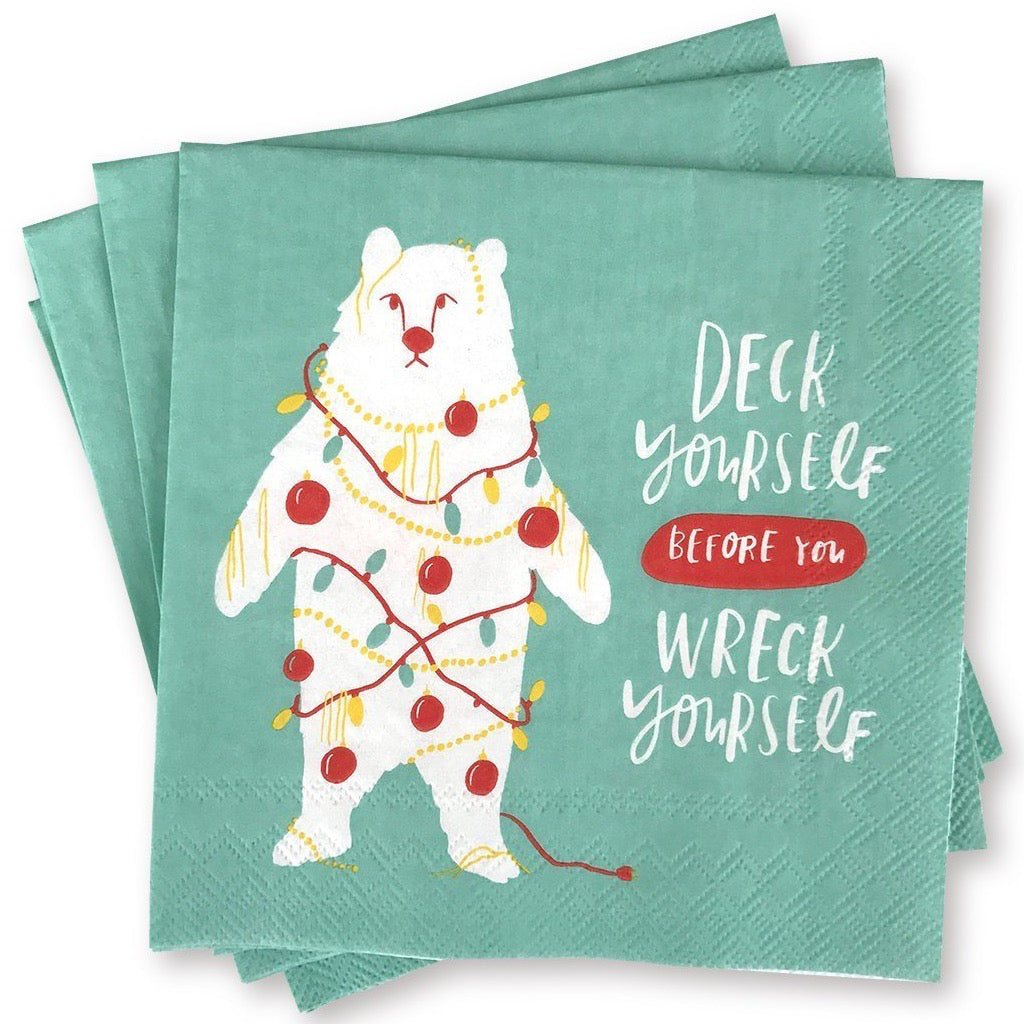 Deck Yourself Napkins
