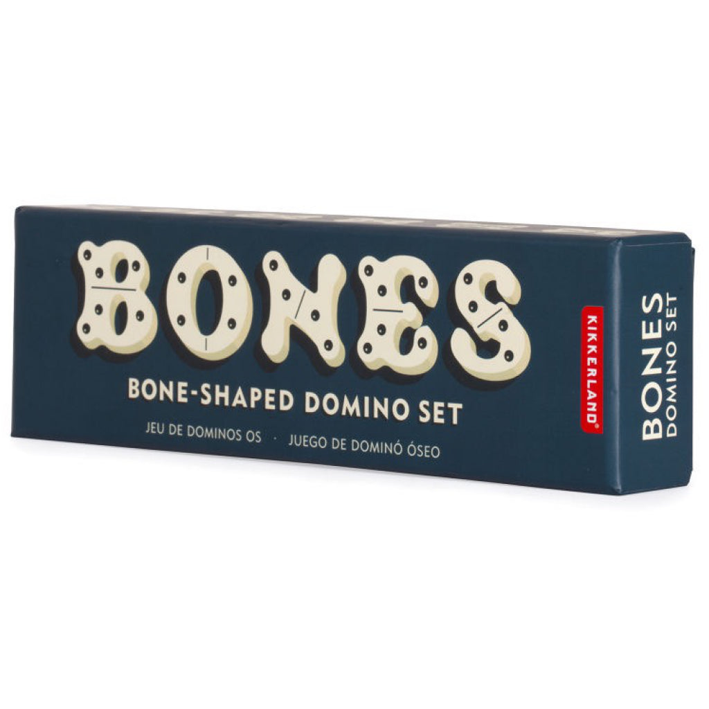 Dog Bone Domino Set Box Side View
