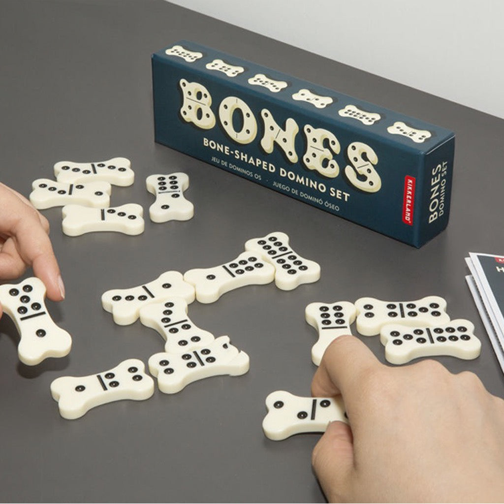 Dog Bone Domino Set In Use