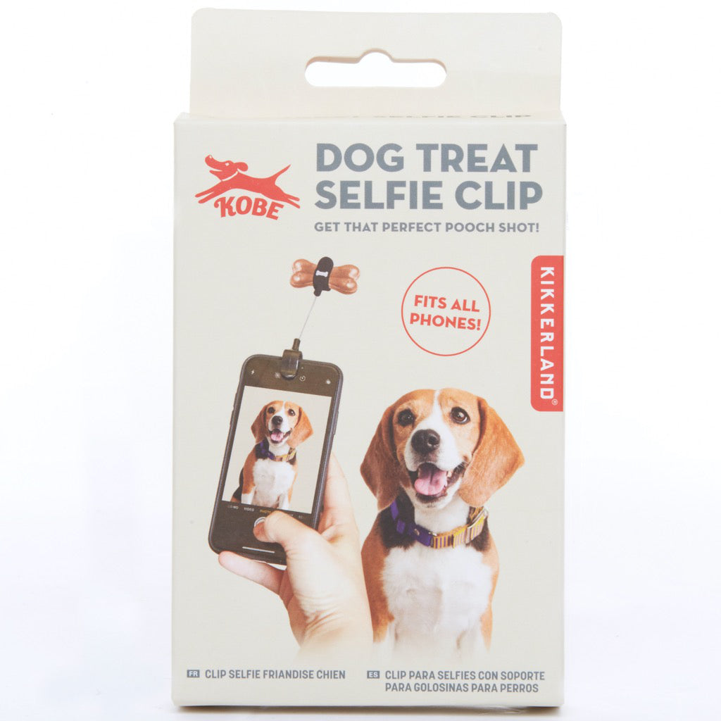 Dog Treat Selfie Clip Packaged