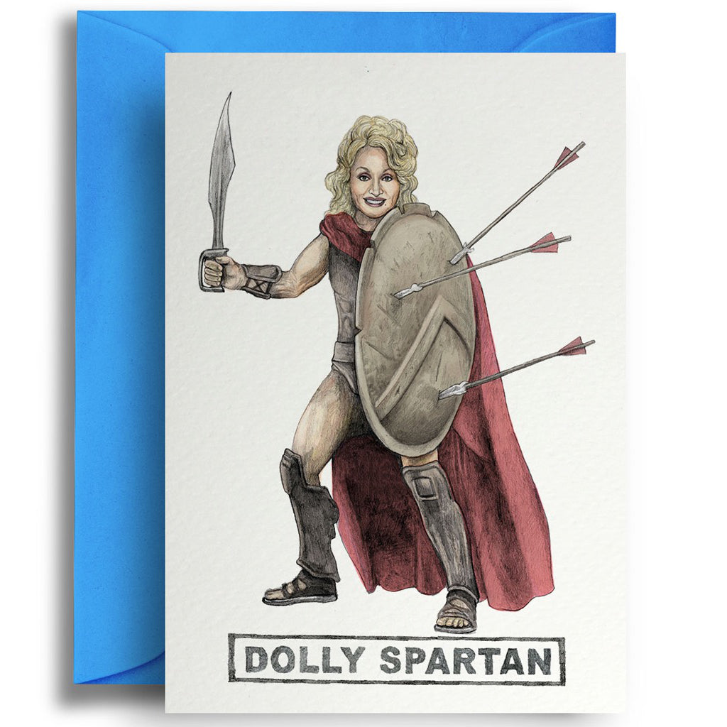 Dolly Sparton Card