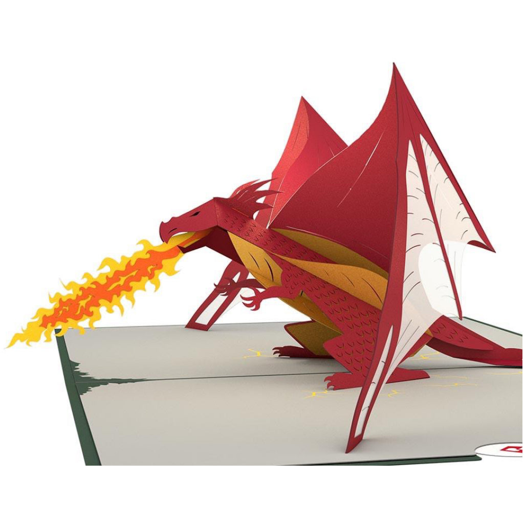 Dragon 3D Pop Up Card