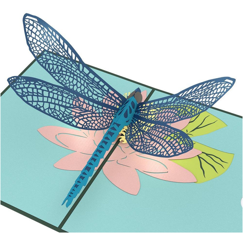 Dragonfly 3D Pop Up Card