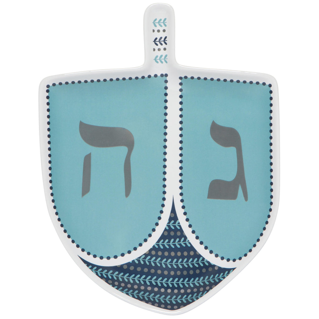 Dreidel Shaped Dish