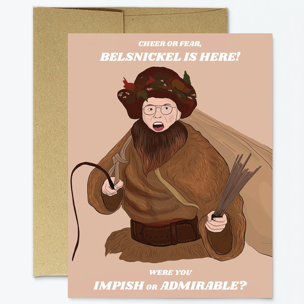 Dwight Belsnickel Christmas Card