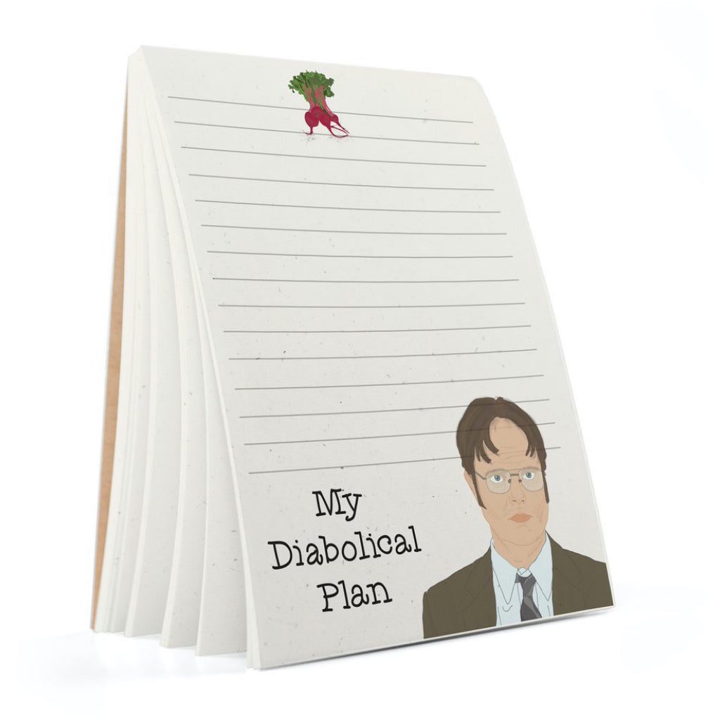 Dwight The Office Notepad