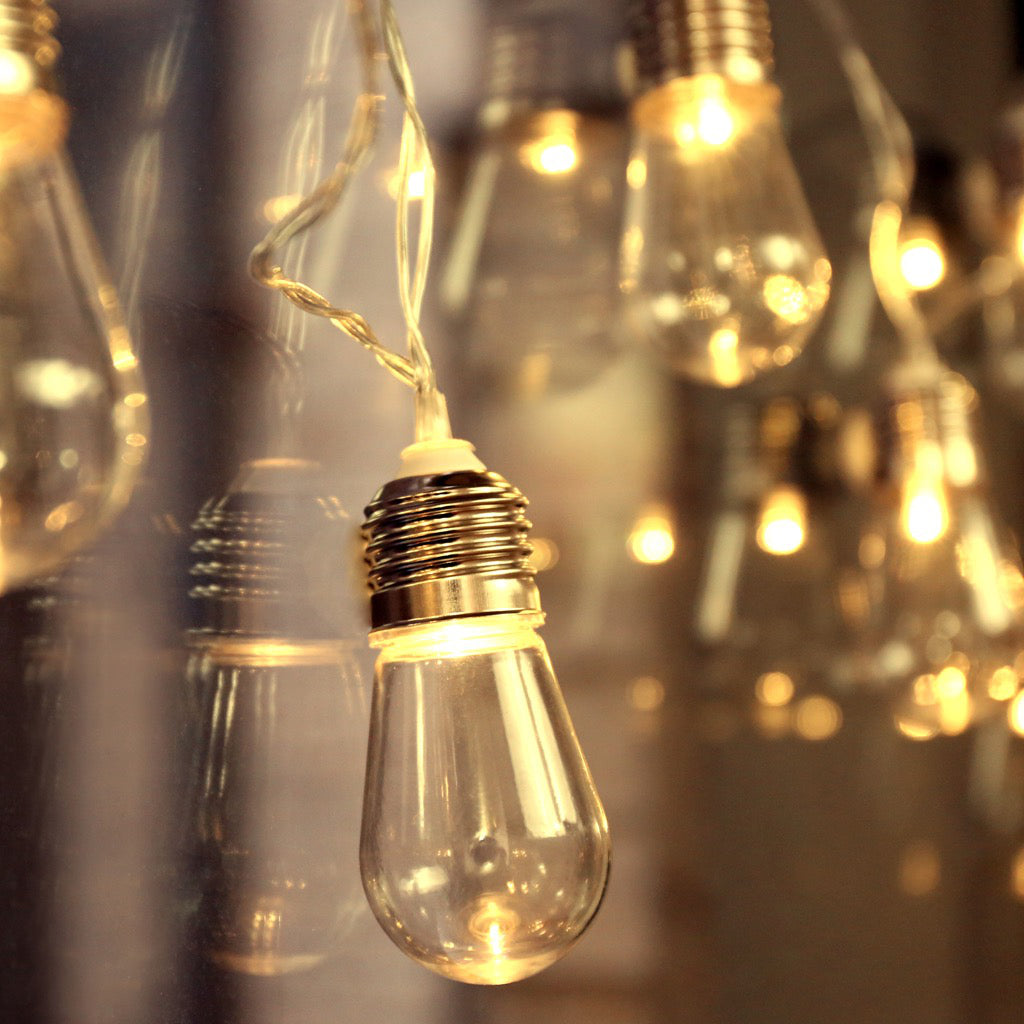 Edison Bulb String Lights Lifestyle