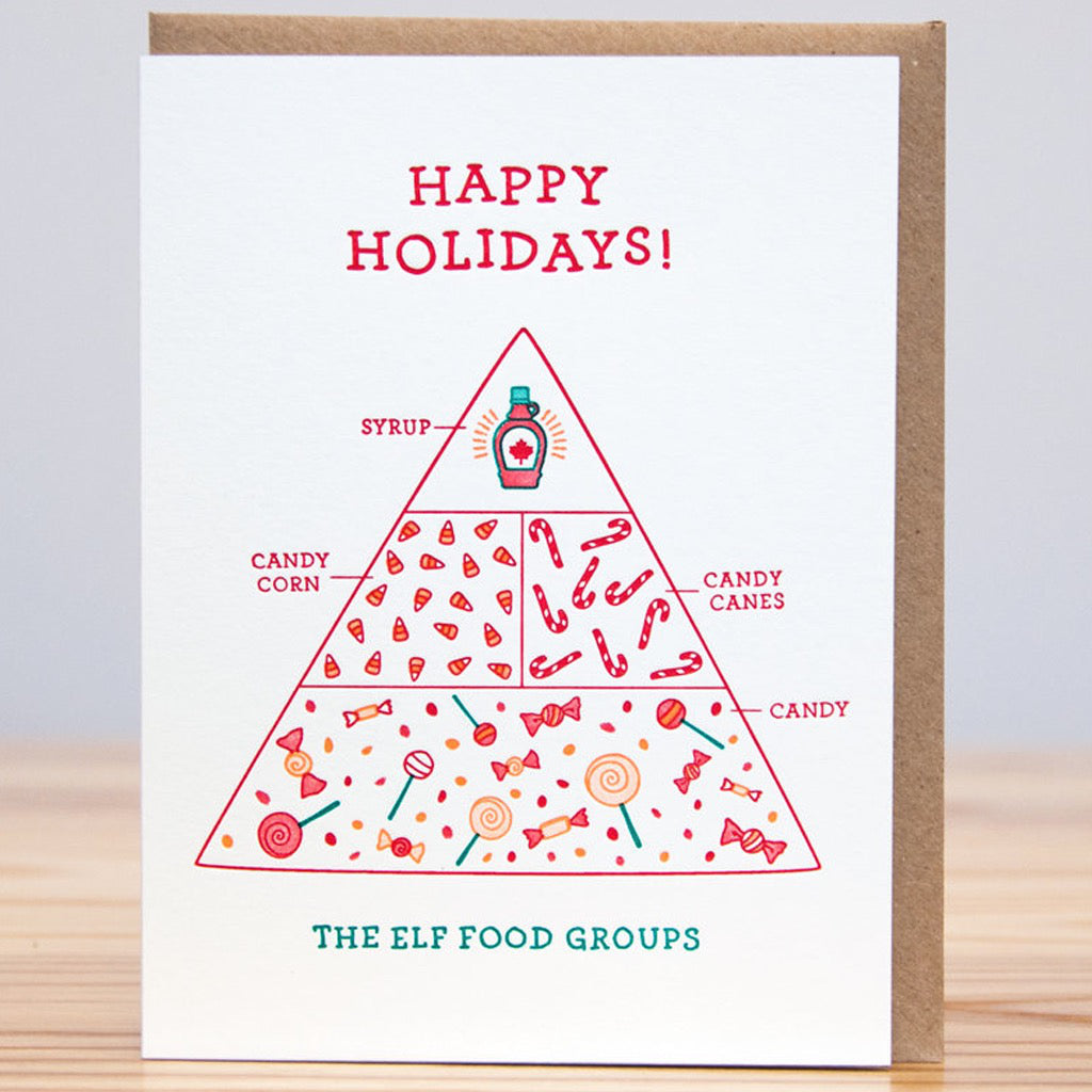 Elf Food Group Holiday Card