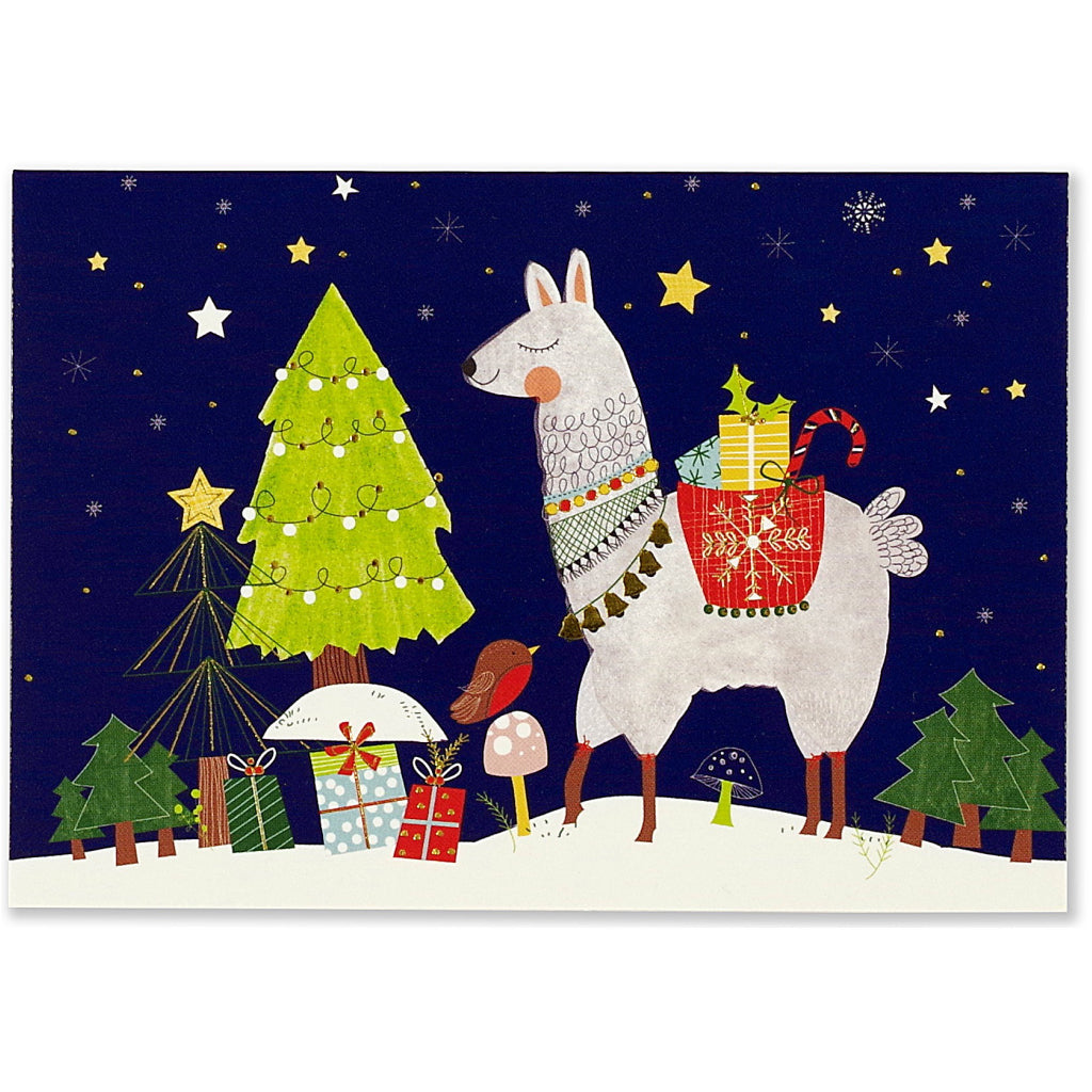 Fa La Llama Holiday Boxed Cards by Peter Pauper Press – Outer Layer