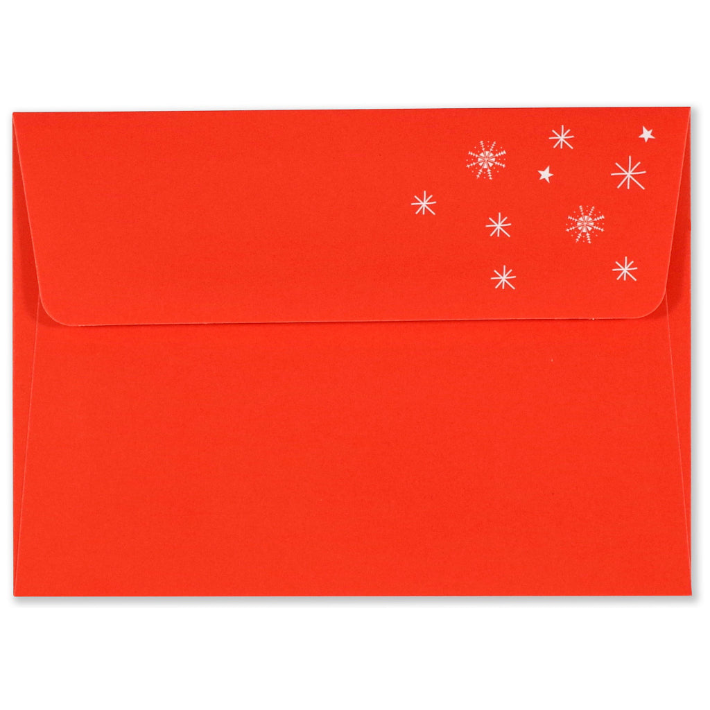 Envelope of Fa La Llama Holiday Boxed Cards.