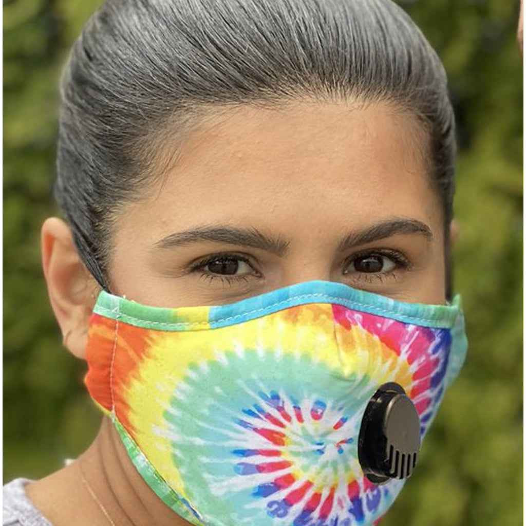 Face Mask With Filter Tie Dye - Adult Lifestyle