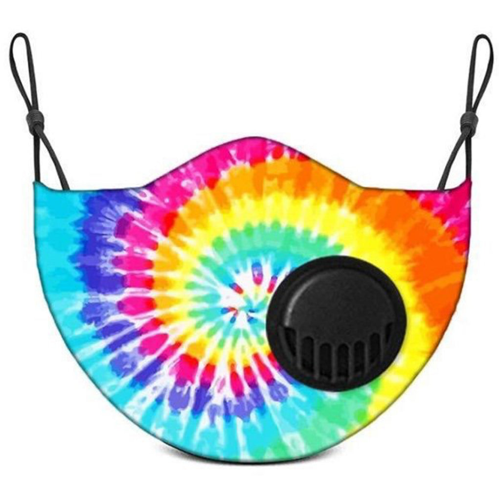 Face Mask With Filter Tie Dye - Kids