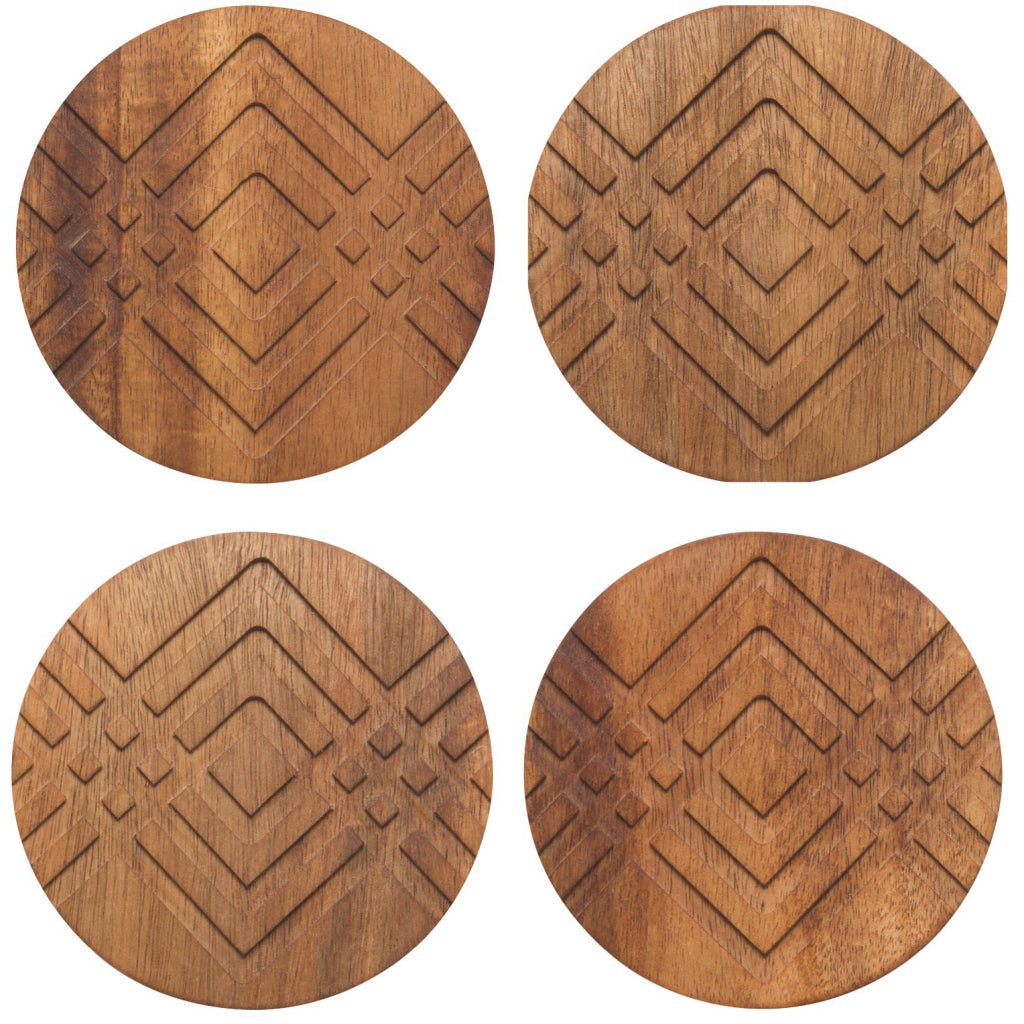 Facet Geo Coasters Set of 4