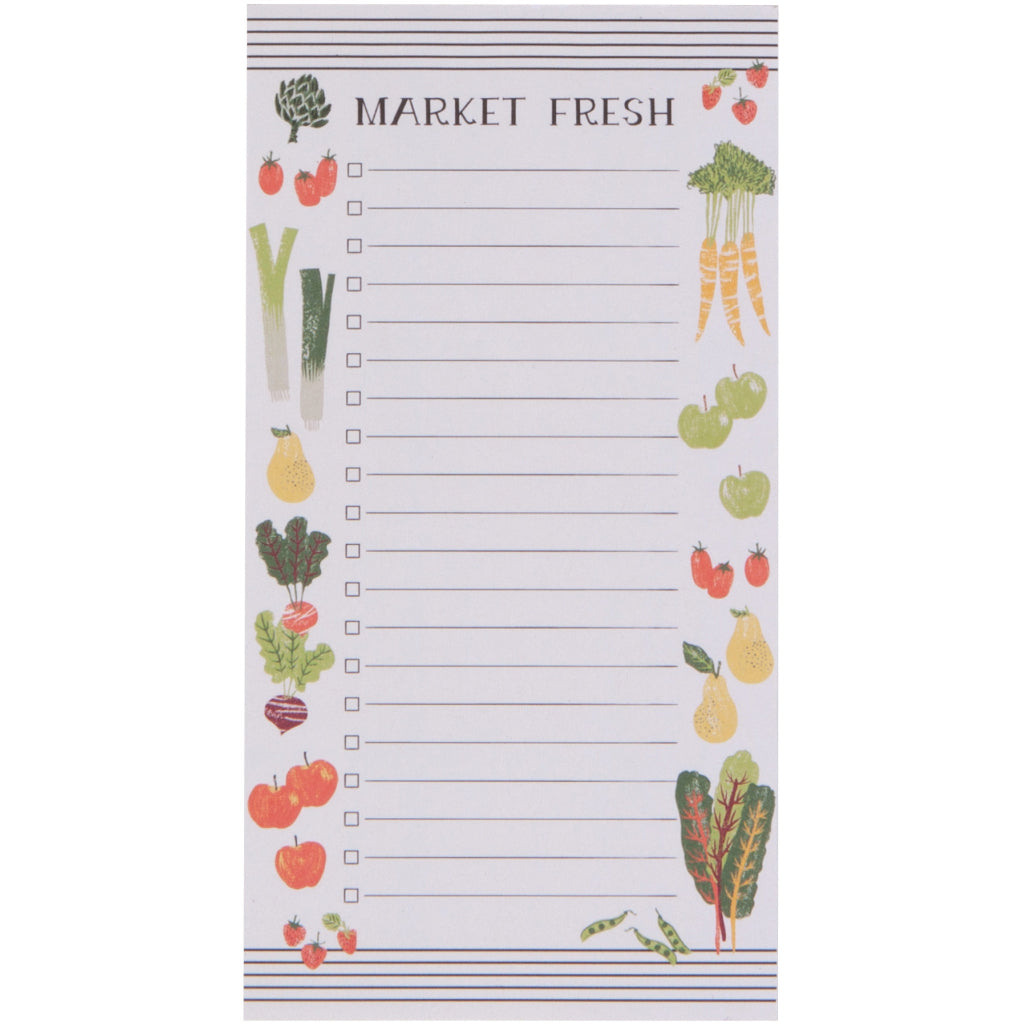 Farmer's Market Magnetic Notepad