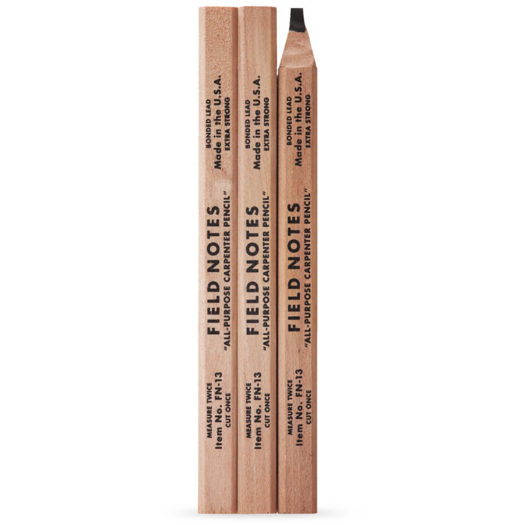 Field Notes Carpenter Pencils 3 Pack