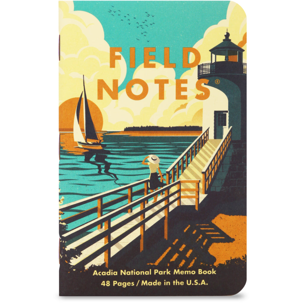 Field Notes National Parks Series A 3-Pack Notebooks A2 cover