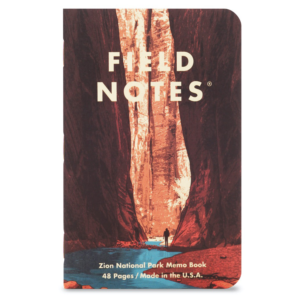 Field Notes National Parks Series A 3-Pack Notebooks A3 Cover