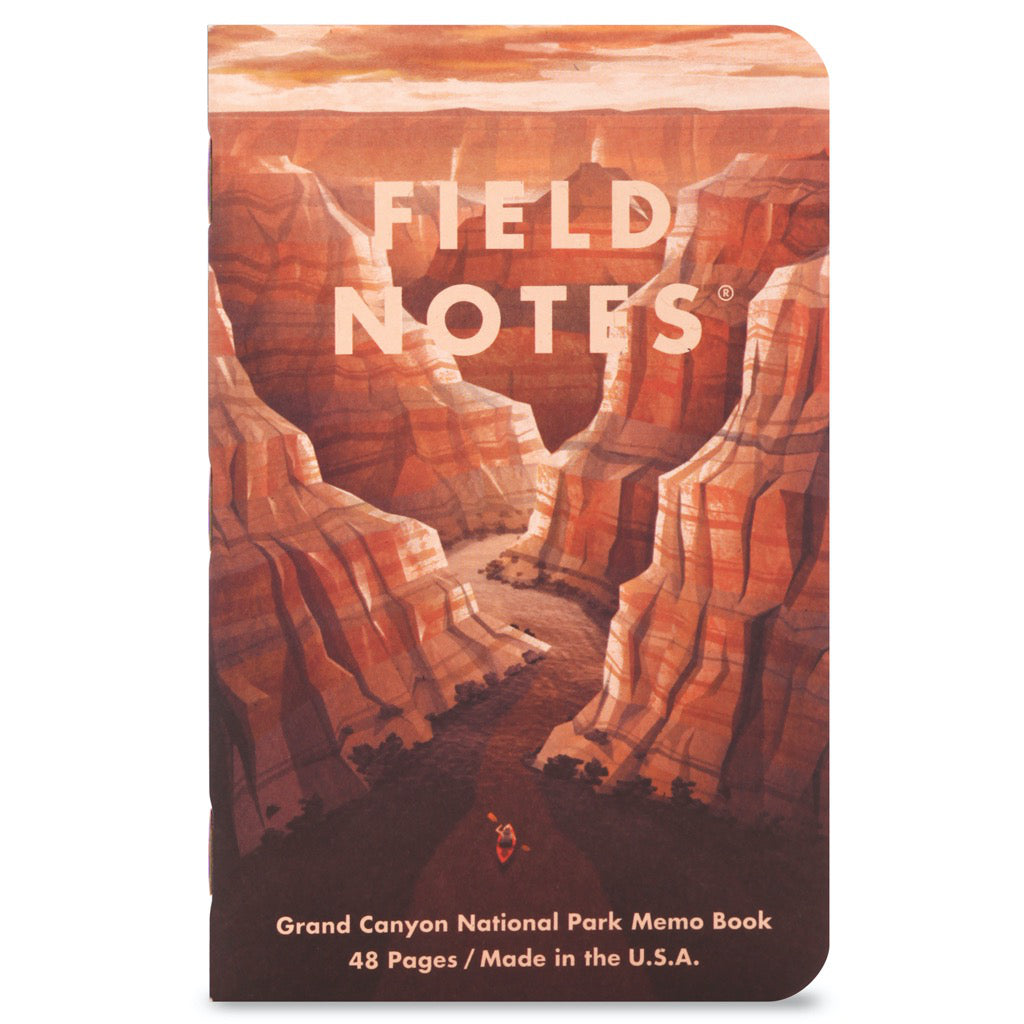 Field Notes National Parks Series B 3-Pack Notebooks B1 cover