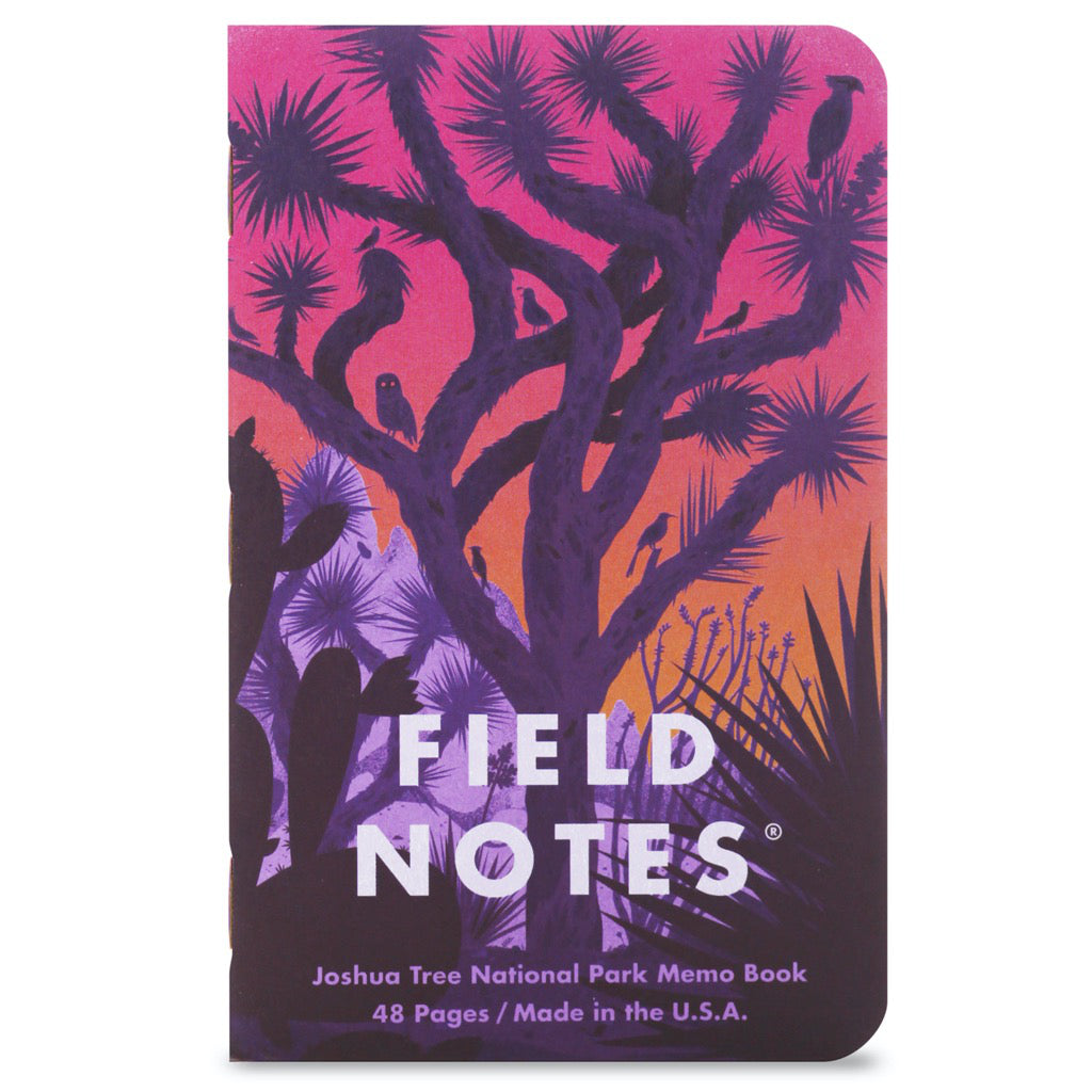 Field Notes National Parks Series B 3-Pack Notebooks B2 Cover
