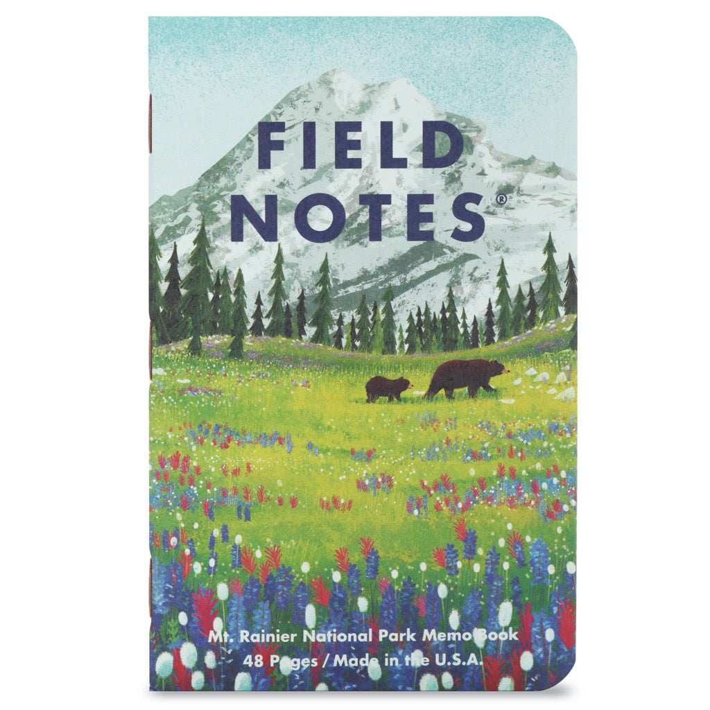 Field Notes National Parks Series B 3-Pack Notebooks B3 cover