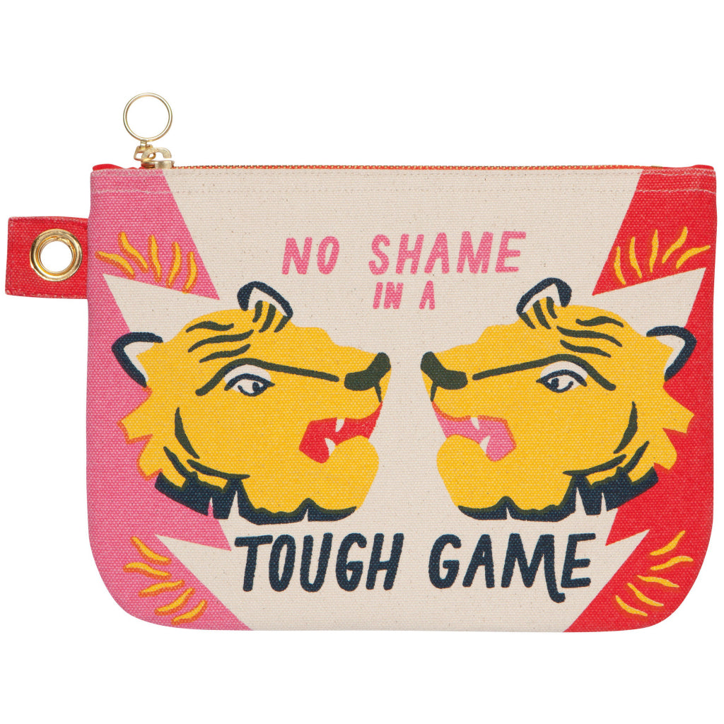 Fierce Large Zipper Pouch