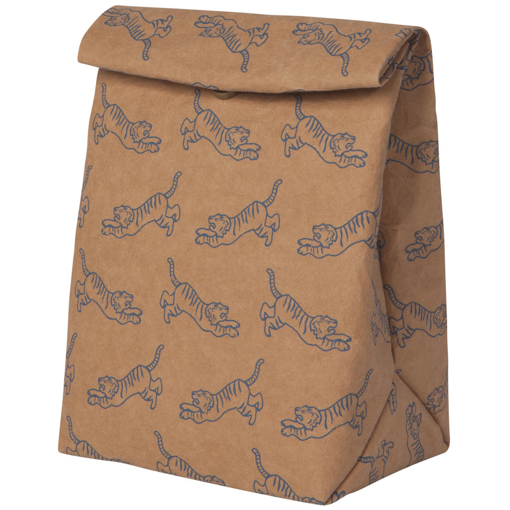 Fierce Tiger Paper Lunch Bag
