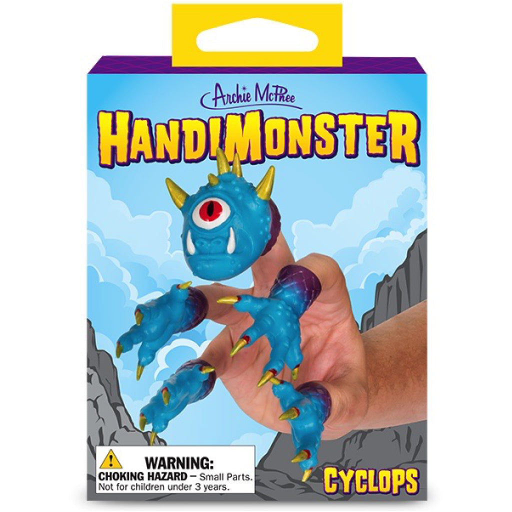 Packaging of Finger Puppet - HandiMonster .