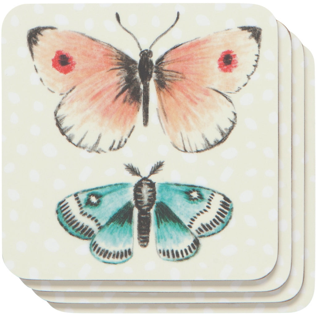 Fly Away Coasters Set of 4