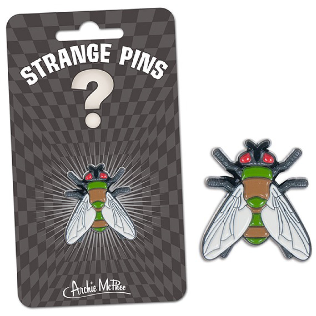 Fly Enamel Pin