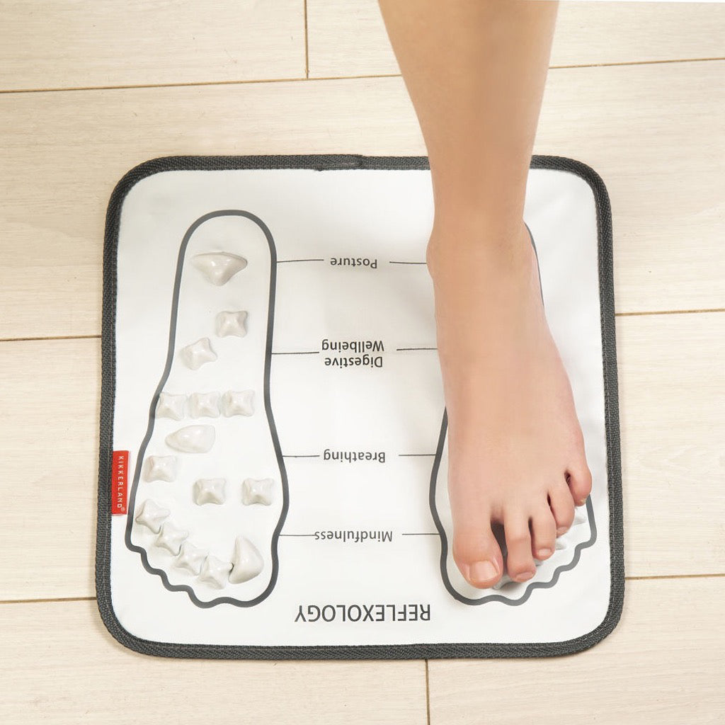 Foot Massager Mat In Use