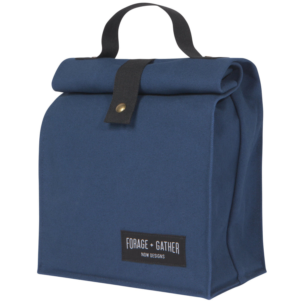 Forage & Gather Lunch Bag Blue