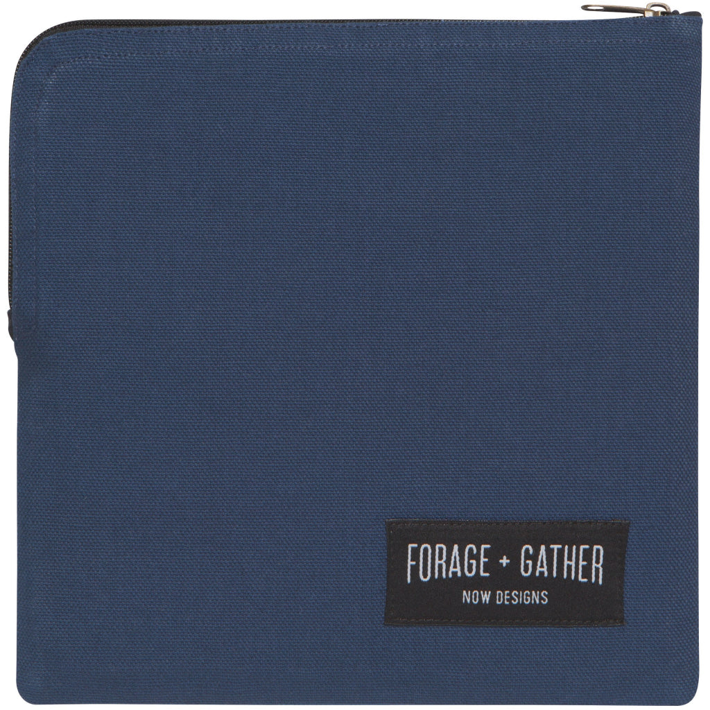 Forage & Gather Snack Bag Blue