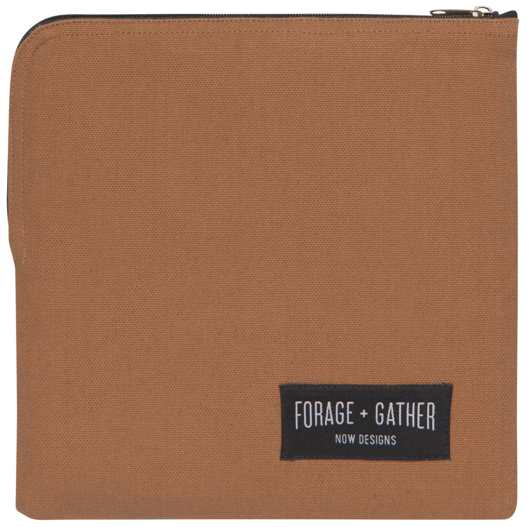 Forage & Gather Snack Bag Brown
