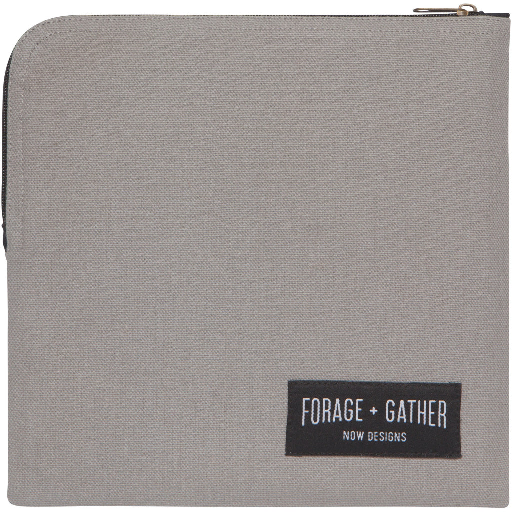 Forage & Gather Snack Bag Gray