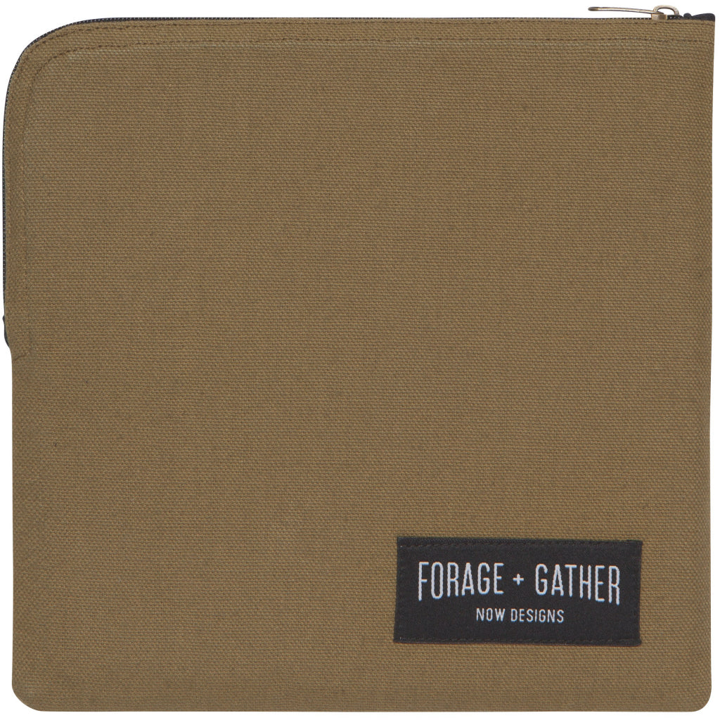 Forage & Gather Snack Bag Green