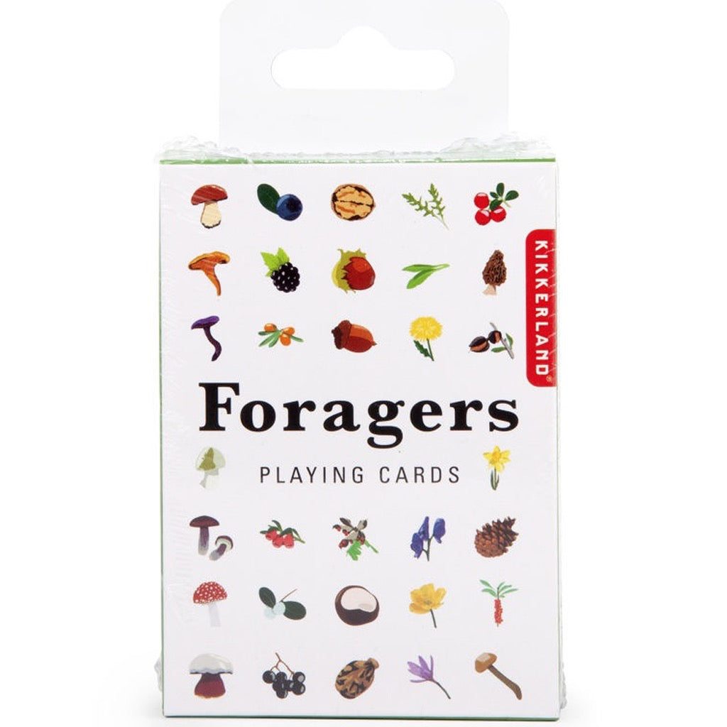 Foragers Playing Cards In Box