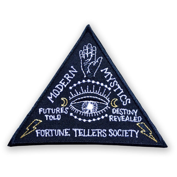 Fortune Tellers Society Iron On Patch