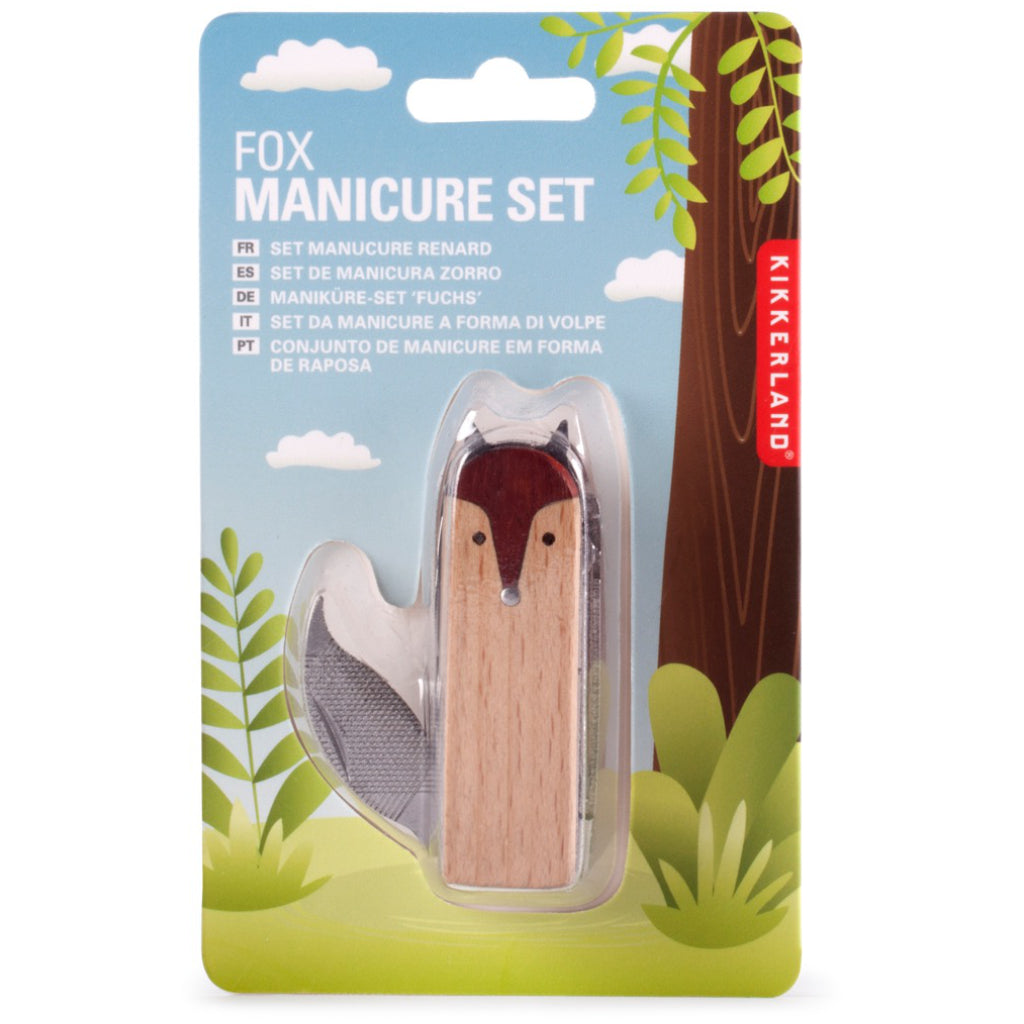 Fox Manicure Set Package
