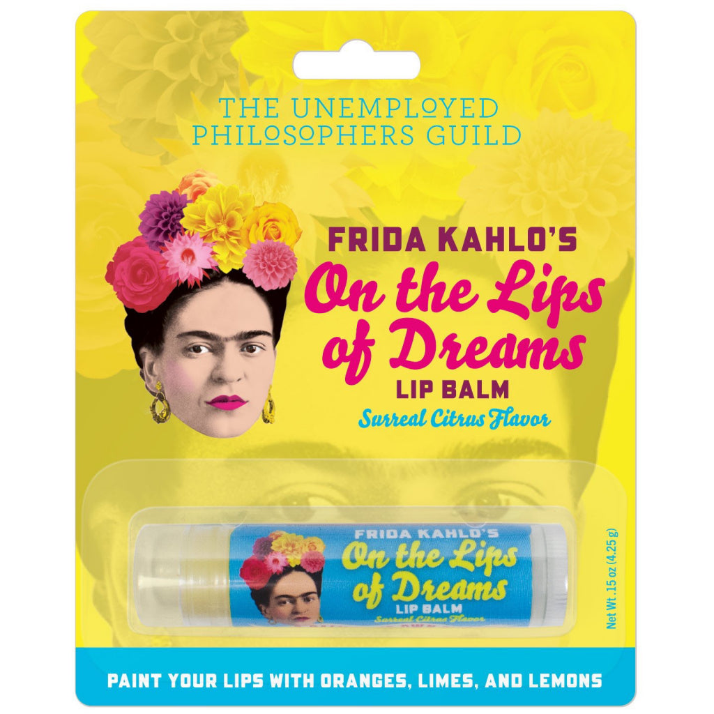 Packaging of Frida Kahlo Lip Balm.