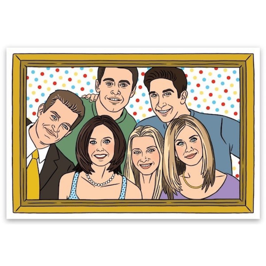 Friends Cast Sticker