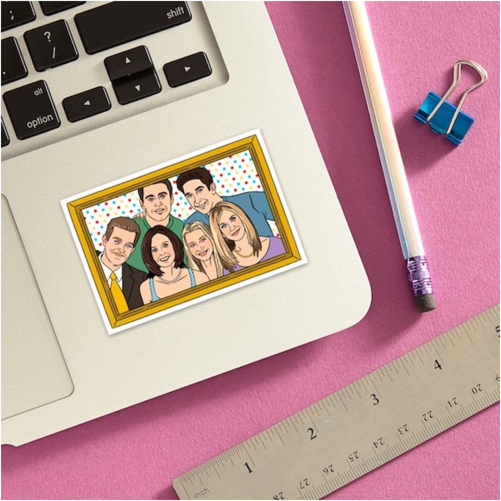 Friends Cast Sticker Lifestyle