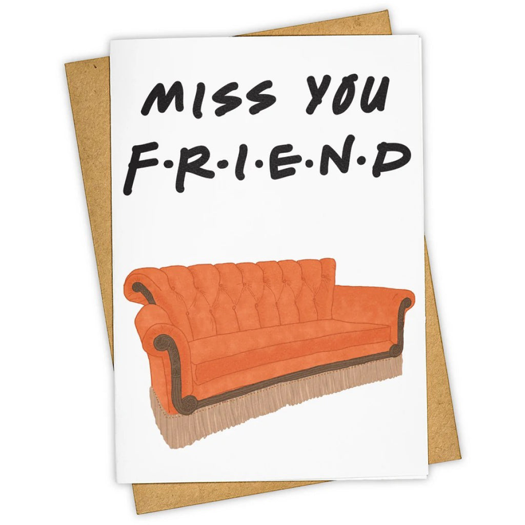 Friends Central Perk Couch Card