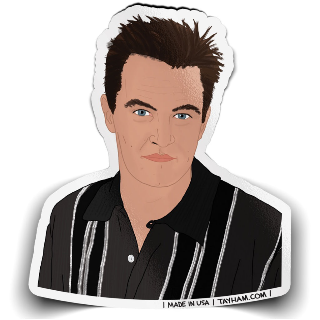 Friends Chandler Sticker
