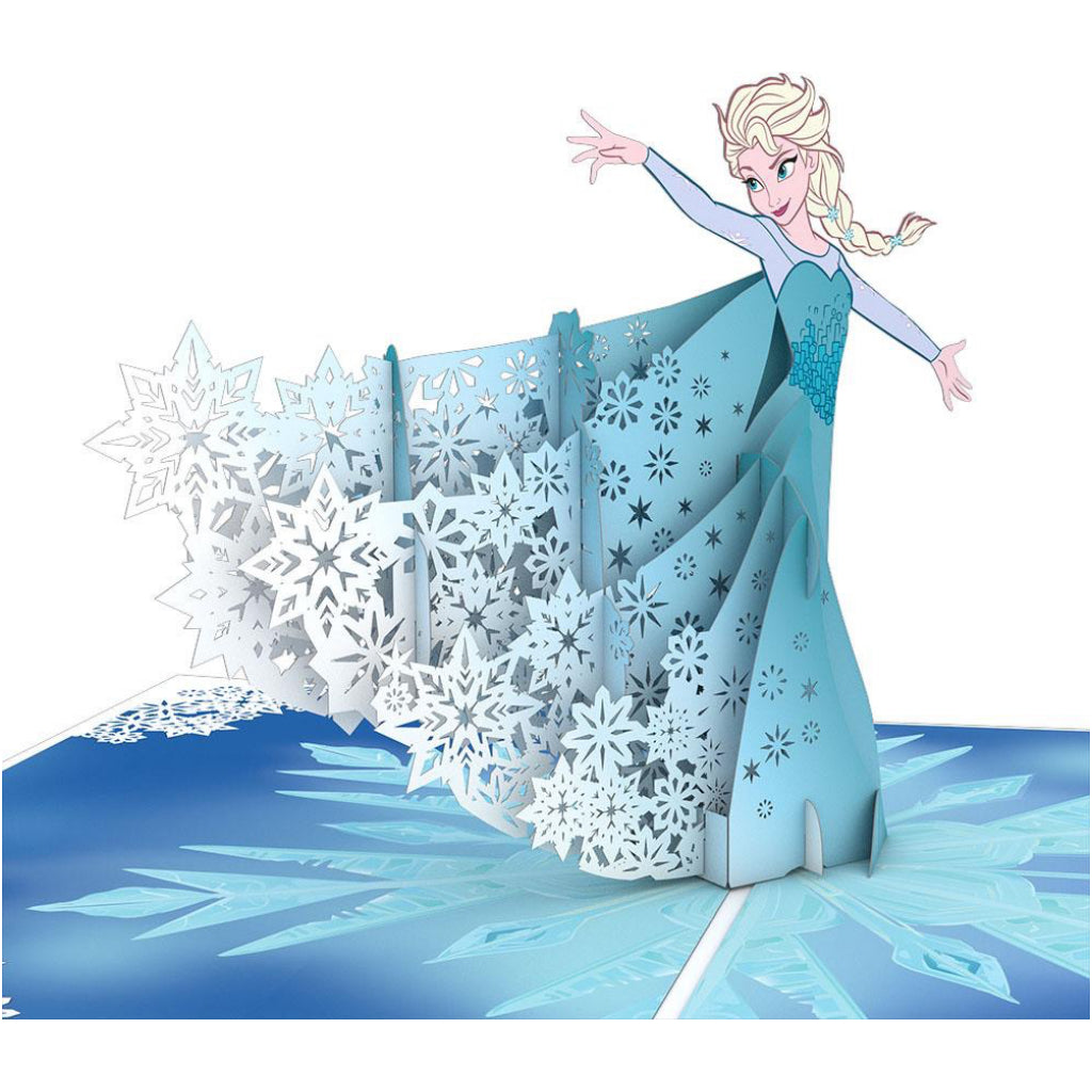 Frozen Elsa 3D Pop Up Card